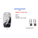 LAMPADINE DI POSIZIONE T10 ULTRA LUMINOSE MAXTECH T-10 12V / 1LED CANBUS 6000K