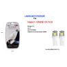 LAMPADINE DI POSIZIONE T10 MAXTECH T-105050 12V 5LED LAMPADINE ULTRA LUMINOSE 6000K
