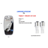 LAMPADINE DI POSIZIONE T10 MAXTECH T10-5630 12V 2LED LAMPADINE ULTRA LUMINOSE 6000K