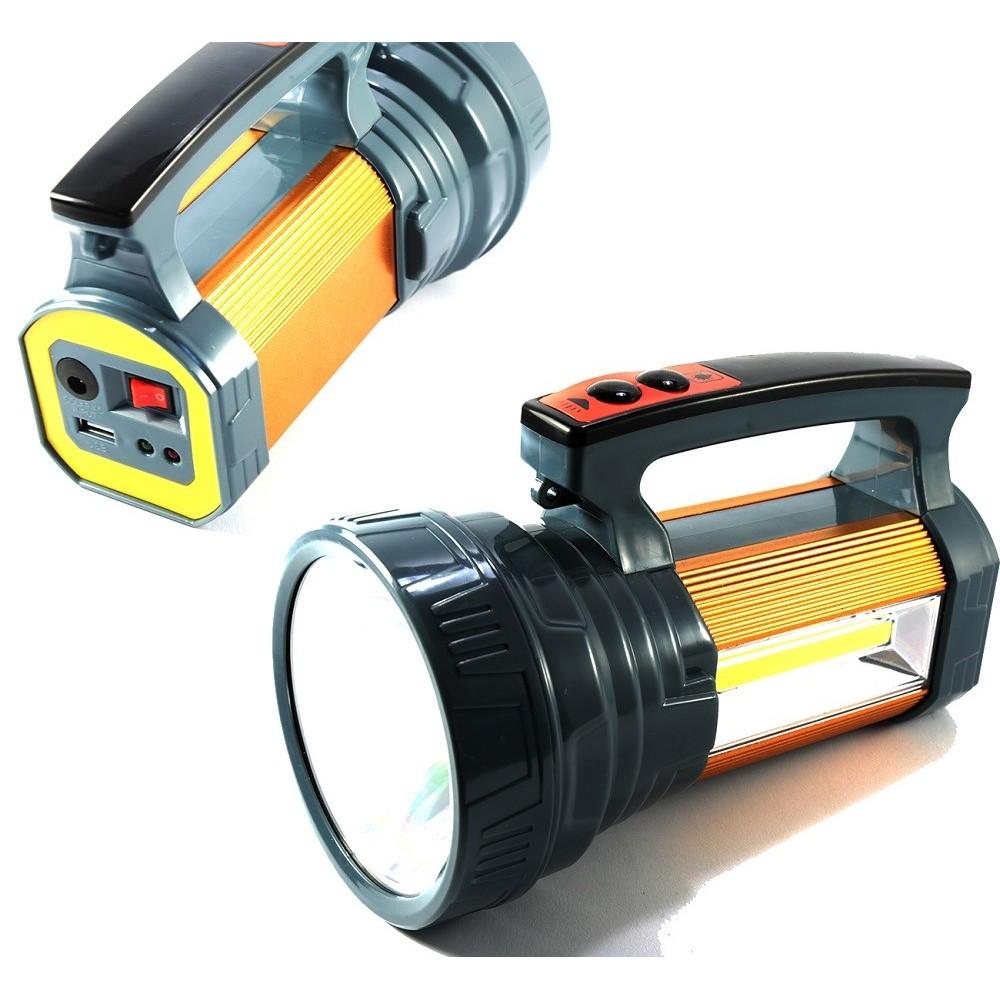 Torcia 25 Led Lampada Ricaricabile 2800mah Luce Illumina Portatile LED-736a hsb