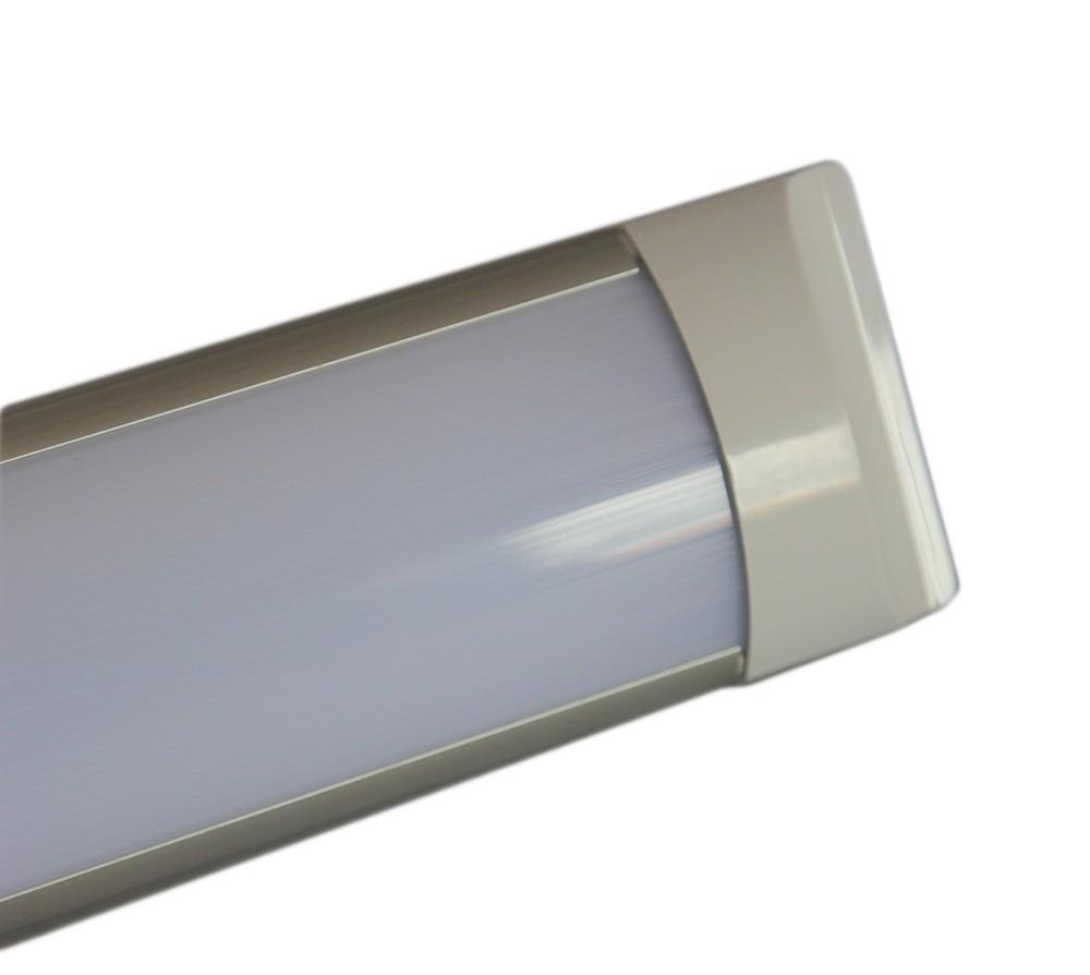 PLAFONIERA-APPLIQUE-A-LED-SLIM-SMD-SOFFITTO-LAMPADA-PROFILO-SPESSORE-27MM-LUCE miniatura 6