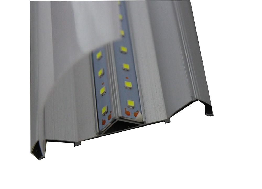PLAFONIERA-APPLIQUE-A-LED-SLIM-SMD-SOFFITTO-LAMPADA-PROFILO-SPESSORE-27MM-LUCE miniatura 7
