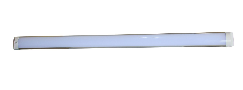 PLAFONIERA-APPLIQUE-A-LED-SLIM-SMD-SOFFITTO-LAMPADA-PROFILO-SPESSORE-27MM-LUCE miniatura 8