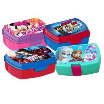 PJ Masks LUNCH BOX scatola colazione porta PRANZO MERENDA sandwich scuola