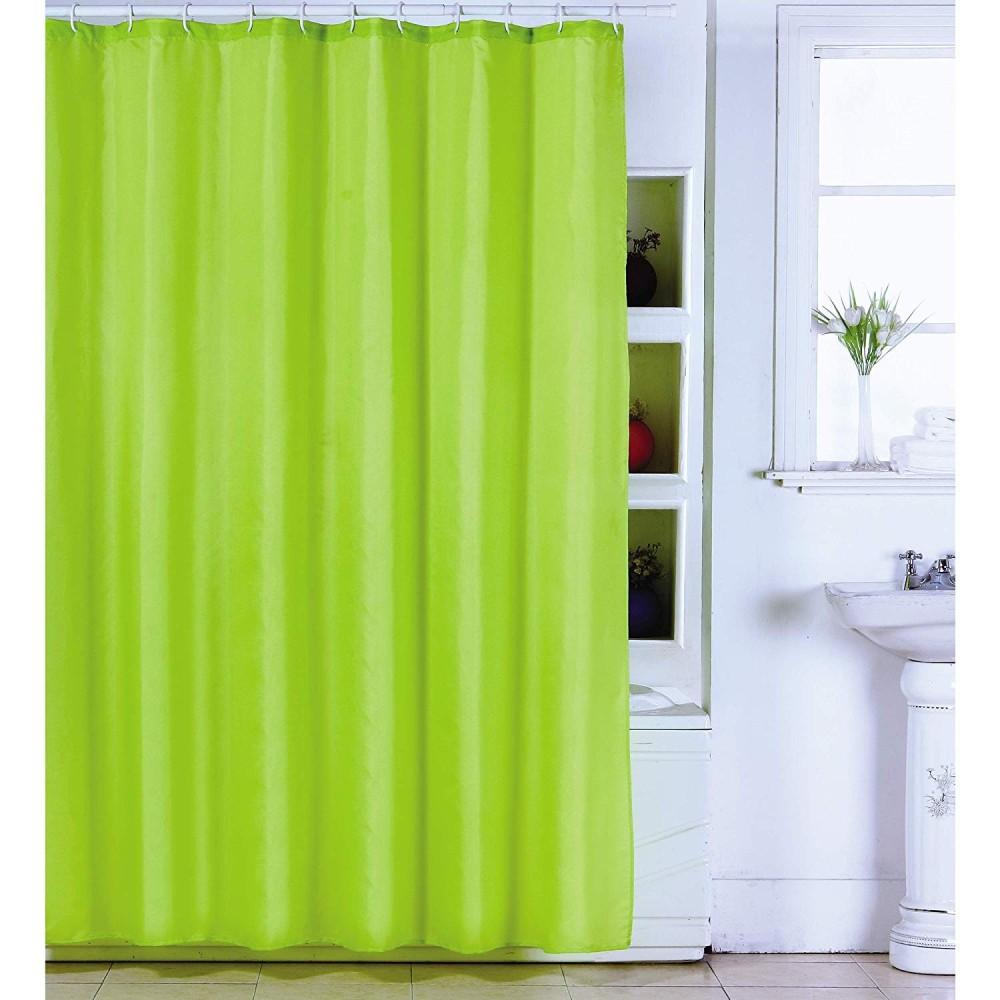 Tende Per Doccia Bagno.Tenda Doccia Verde In Poliestere 180x200 Cm Tendina Vasca Bagno