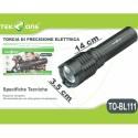TORCIA LED TEKONE TO-BL111 CON ZOOM RICARICABILE LUCE PRECISIONE