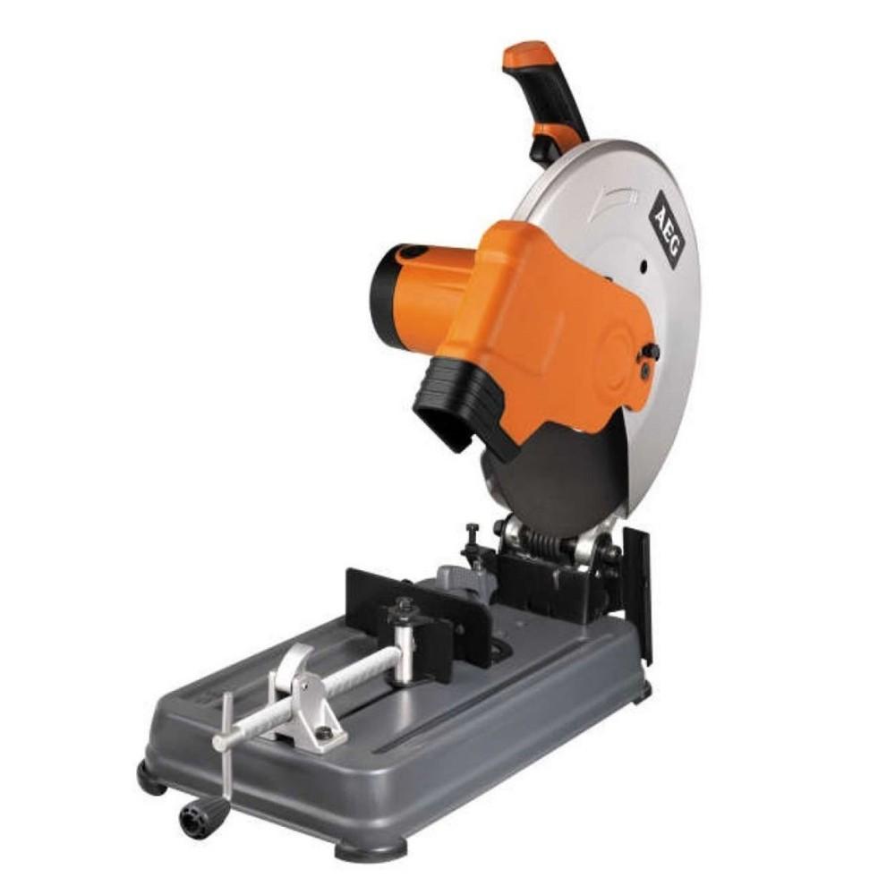 Troncatrice per ferro metallo 2300w diam 355mm aeg smt 355 for Prezzo ferro al kg oggi