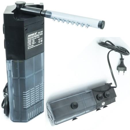 filtro pompa per acquario interno con gocciolatoio acqua