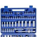Kit Inserti + Bussole Boccole impronta torx esagonale con 3 cricchetti 171 pz