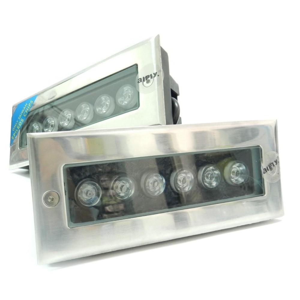 FARETTO LED A INCASSO 5 6 9 12 18 W W 18 SEGNAPASSO IMPERMEABILE INTERNO ESTERNO IP68 38ff47
