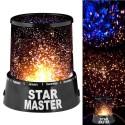 STAR MASTER LAMPADA PROIETTORE DI STELLE LED DA TAVOLO EFFETTO CIELO STELLATO !!