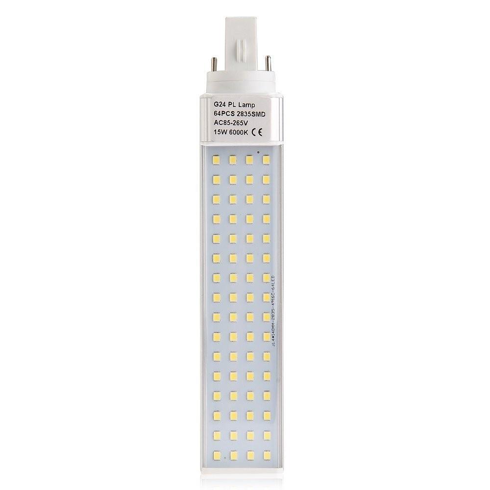 Lampada Per Faretto A Led.Lampadina Lampada Faretto G24 Pl 15w 220v 60 Led Luce Bianco