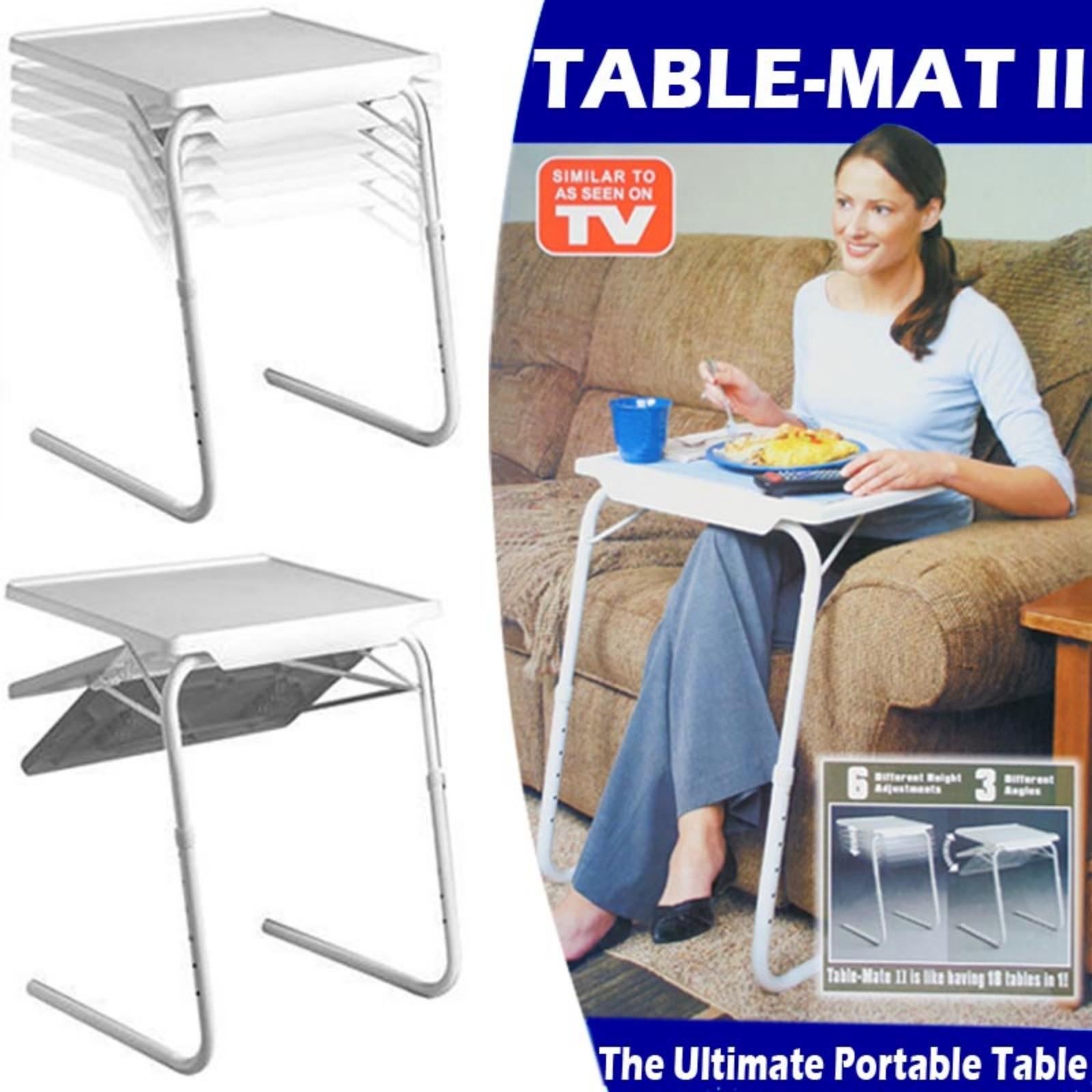 Tavolino Per Letto.Tavolo Tavolino Multiuso Regolabile Pieghevole Salvaspazio Per