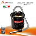 Aspiratore Aspiraceneri 800W 18lt. funzione soffiatore Ribitech CENERIX PRCEN003