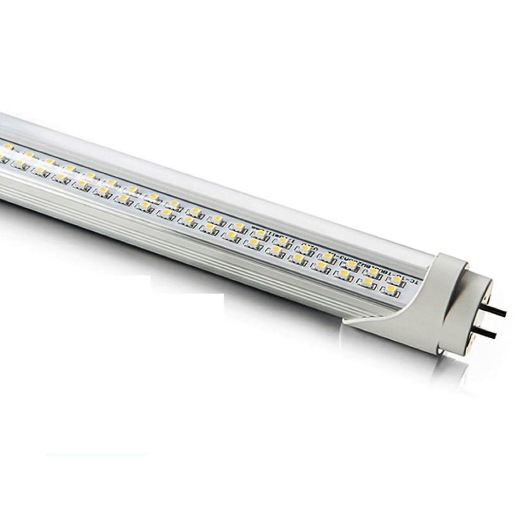 Tubo neon led 8w 60 cm t8 120 smd led luce bianca fredda for Luce bianca led