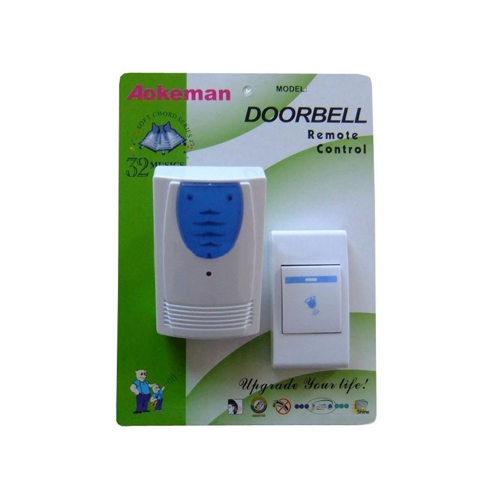 Campanello wireless senza fili universale casa ufficio - Campanello casa senza fili ...