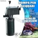 Filtro interno sommergibile per da acquario 3in1 fino a 50cm. 6W IPF 448 pesci
