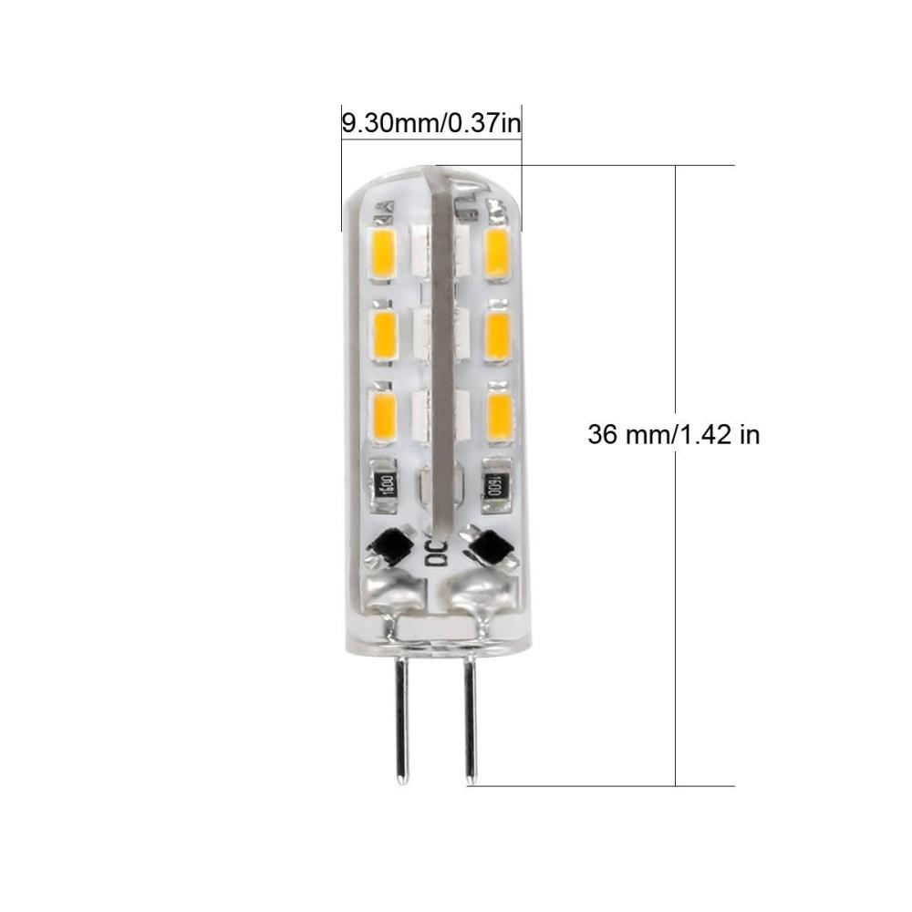 2 lampadine 2 5w led 32 smd attacco g4 a spillo luce for Lampadine al led luce calda