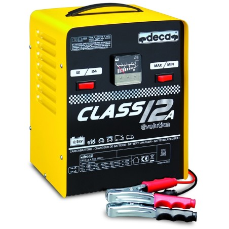 CARICA BATTERIE DECA CLASS 12A - PER MOTO E AUTO 12/24 V - Pb WET 9,0 Amp 12/24V